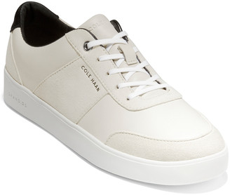 Cole Haan Grand Lace-Up Leather & Suede Sneaker