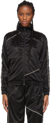 Daniëlle Cathari Black Deconstructed Track Jacket