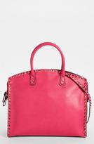 Valentino 'Rockstud' Leather Dome Satchel
