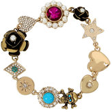 Betsey Johnson Mystic Baroque Flower Bracelet