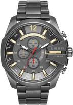Diesel Men's 51mm Grey Steel Bracelet & Case Quartz Analog Watch Dz4421