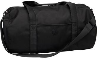 Fred Perry Mens Tonal Track Barrel Bag Black