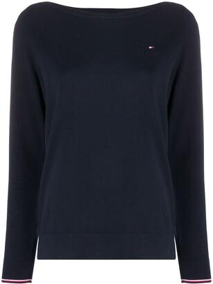 Tommy Hilfiger Boat-Neck Sweatshirt
