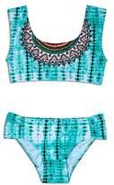 Gossip Girl Girls' Tie-Dyed 2-Piece Swimsuit - Big Kid