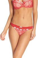 B.Tempt'd 'b.sultry' Lace Front Thong (3 for $45)