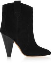 Etoile Isabel Marant Isabel Marant - étoile Roxann Suede Ankle Boots - Black
