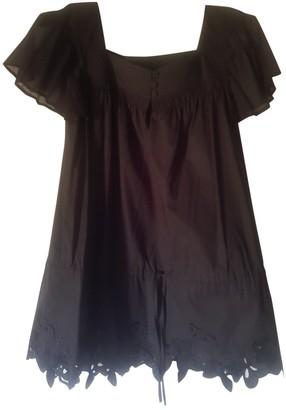 Escada Black Cotton Top for Women