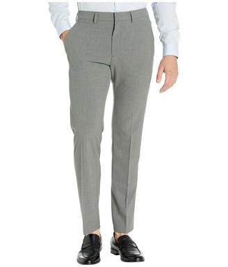 Kenneth Cole Reaction Men's Stretch Pinstripe Slim Fit Flat Front Dress Pant