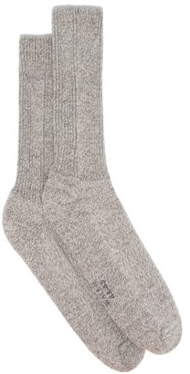 Falke Walkie Ergo Wool-blend Socks - Grey