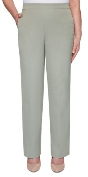 Alfred Dunner Petite Chesapeake Bay Pull-On Pants