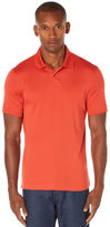 Perry Ellis Short Sleeve Two Button Rib Polo