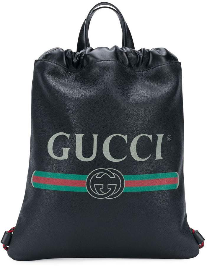 2283c83296f9 Gucci Drawstring Backpack - ShopStyle