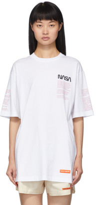 Heron Preston White Facts T-Shirt