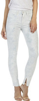 Paige Madeline High Rise Skinny Jean With Raw Hem