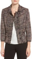 Ivanka Trump Women's Tweed Peplum Jacket