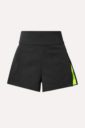 Nike Tech Pack Ripstop-trimmed Stretch-twill Shorts - Black