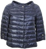 Herno Blue Nylon Ultralight Padded Jacket