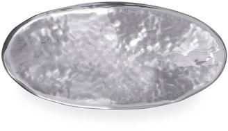 Mariposa Shimmer Oval Centerpiece Bowl