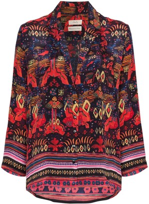 CHUFY Nazca printed shirt