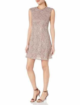 Tiana B T I A N A B. Women's Sequin Lace A-line Dress