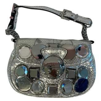 Karen Millen Silver Leather Handbags