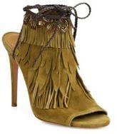 Aquazzura Pocahontas Suede Sandal