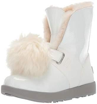 UGG Women's W Isley Patent Waterproof Fashion Boot