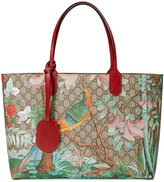Gucci Tian GG Supreme tote - women - Leather/Canvas - One Size