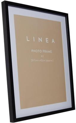Linea Black A4 Poster Frame