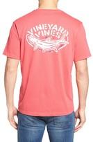 Vineyard Vines Men's Stencil Tarpon Graphic Pocket T-Shirt