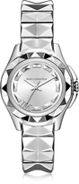 Karl Lagerfeld 7 30mm Silver IP Stainless Steel Women's Watch