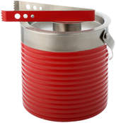 Fiesta Scarlet Ribbed 3-qt. Ice Bucket & Tongs