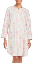Miss Elaine Floral-Print Duster Robe