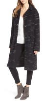 Bernardo Plus Size Women's Wool Blend Sweater Coat