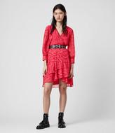 AllSaints Keva Remix Dress