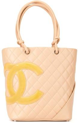Chanel Pre-Owned Cambon CC tote