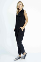 Karen Zambos Sleeveless Spencer Jumpsuit