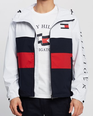Tommy Hilfiger Colour-Block Hooded Jacket