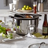 All-Clad Deluxe Slow Cooker with Cast-Aluminum Insert, 4 Qt.