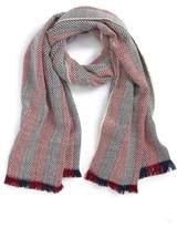 BP Two Tone Herringbone Scarf