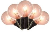 clear 16.5 ft. 25-Light Globe String Light Brite Star Color