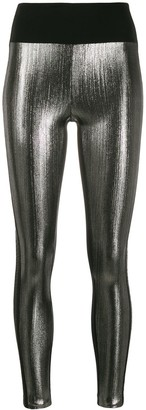 NO KA 'OI Metallic Leggings