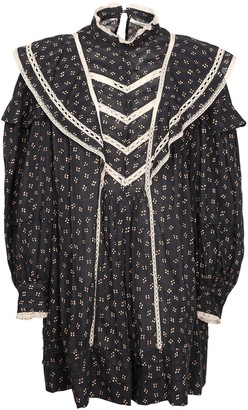 Etoile Isabel Marant Rebel Printed Cotton Voile Mini Dress
