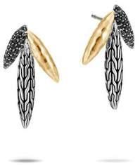 John Hardy Classic Chain Spear Stud Earring