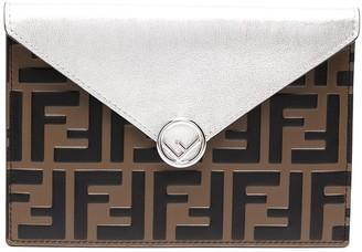 Fendi Monogram Leather Wallet