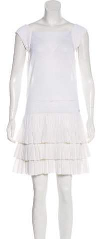 Chanel Tiered Knit Dress