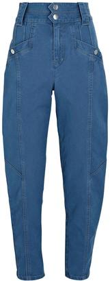 Derek Lam 10 Crosby Alexa Tapered High-Rise Jeans