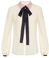 Roksanda Kellaway neck-tie crepe blouse