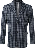 Paolo Pecora checked blazer - men - Cotton/Spandex/Elastane - 46
