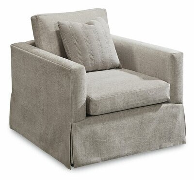 """Thumbnail for your product : One Allium Way Carolin 34.25"""" Wide Polyester Down Cushion Armchair"""